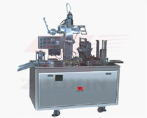 Adjustable transparent film 3D overwrapping machine