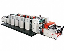 Four Color Flexographic Printing Machine